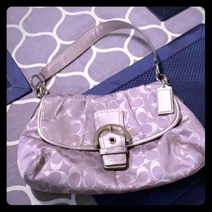 Coach medium hobo style handbag